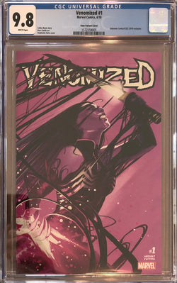 Venomized #1 Stephanie Hans Exclusive CGC 9.8