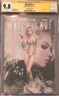 Witchblade #1 Unknown Comics Edition CGC 9.8 SS
