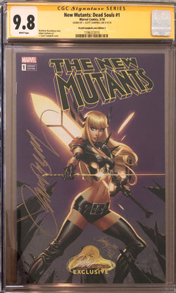 New Mutants: Dead Souls #1 J. Scott Campbell Edition C Variant Exclusive CGC 9.8 SS