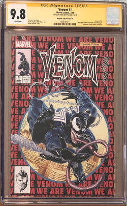 Venom #1 Mike Mayhew Exclusive CGC 9.8 SS