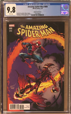 Amazing Spider-Man #800 Mark Bagley Variant CGC 9.8