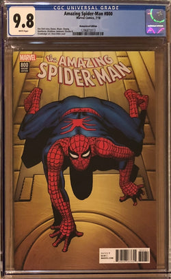 Amazing Spider-Man #800 Steve Ditko Remastered Edition Retailer Incentive Variant CGC 9.8