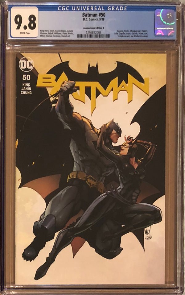 Batman #50 Joe Madureira Edition A-C Exclusive Set CGC 9.8