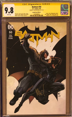 Batman #50 Joe Madureira Edition Cover A CGC 9.8 SS - Batman and Catwoman