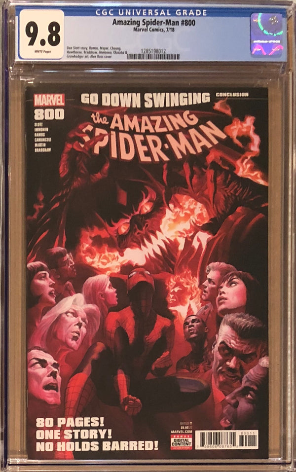 Amazing Spider-Man #800 CGC 9.8