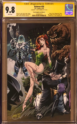 Batman #50 J. Scott Campbell Edition D Poison Ivy Exclusive CGC 9.8 SS