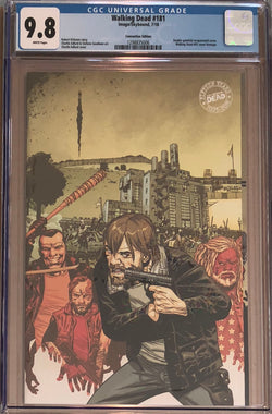 The Walking Dead #181 SDCC Gatefold Exclusive CGC 9.8
