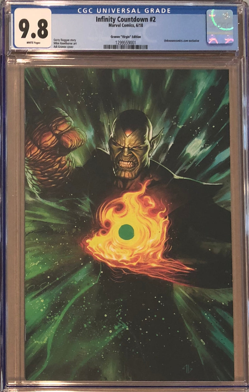 Infinity Countdown #2 Granov Virgin Exclusive CGC 9.8