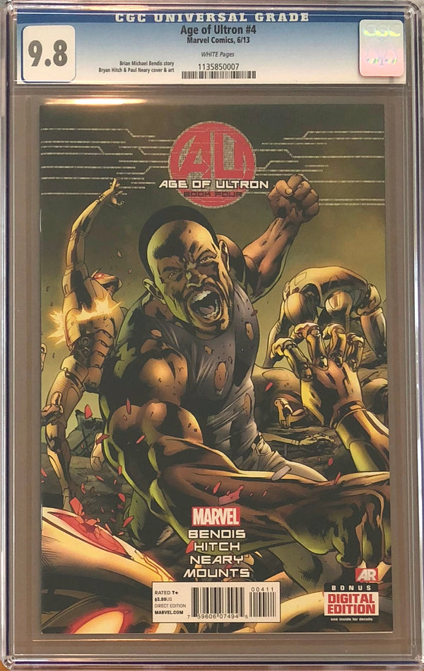 Age of Ultron #4 CGC 9.8