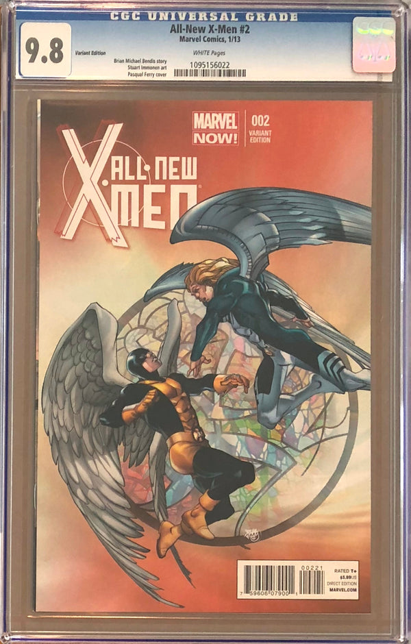 All-New X-Men #2 Pasqual Ferry Variant CGC 9.8
