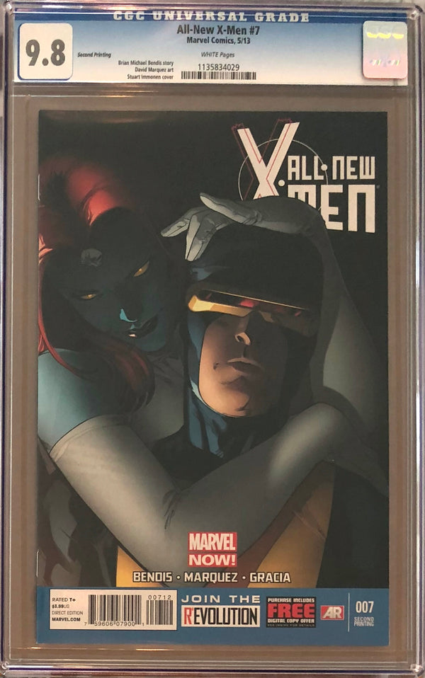 All-New X-Men #7 Second Printing CGC 9.8