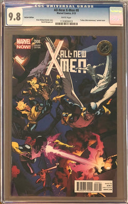 All-New X-Men #8 Variant CGC 9.8