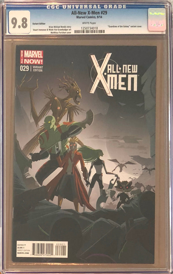 All-New X-Men #29 Guardians of the Galaxy Variant CGC 9.8