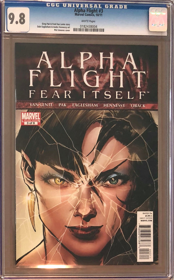 Alpha Flight #3 CGC 9.8