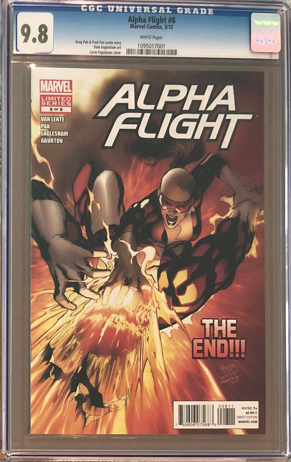 Alpha Flight #8 CGC 9.8