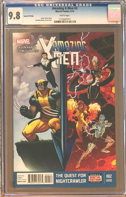 Amazing X-Men #2 Second Printing CGC 9.8
