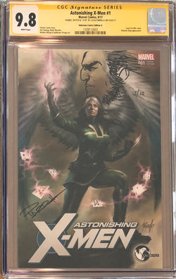 Astonishing X-Men #1 Unknown Comics Variant CGC 9.8 SS Sketched Wolverine #3/10