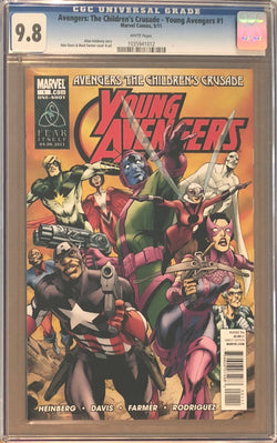 Avengers: The Children's Crusade - Young Avengers #1 CGC 9.8