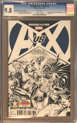 Avengers vs. X-Men #2 Diamond Retailer Summit Edition CGC 9.8
