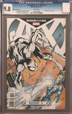 "Avengers vs. X-Men #4 ""I'm with the X-Men"" Variant CGC 9.8"
