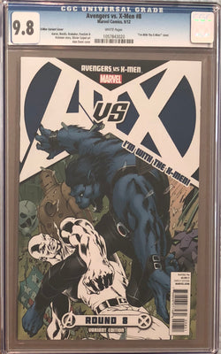 "Avengers vs. X-Men #8 ""I'm with the X-Men"" Variant CGC 9.8"