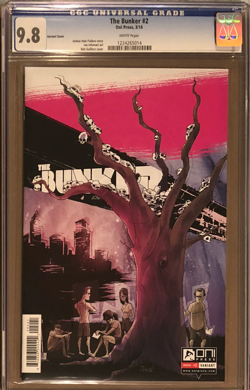 The Bunker #2 ECCC Guiliory Variant CGC 9.8