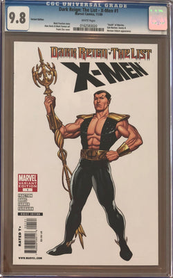 Dark Reign: The List - X-Men #1 Cho Variant CGC 9.8