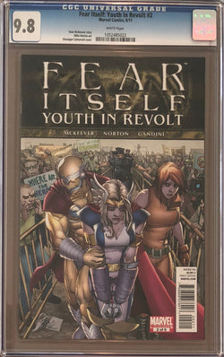 Fear Itself: Youth in Revolt #2 CGC 9.8