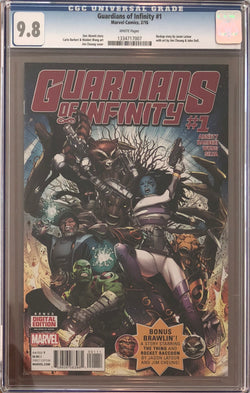 Guardians of Infinity #1 CGC 9.8