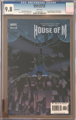House of M #3 Variant CGC 9.8