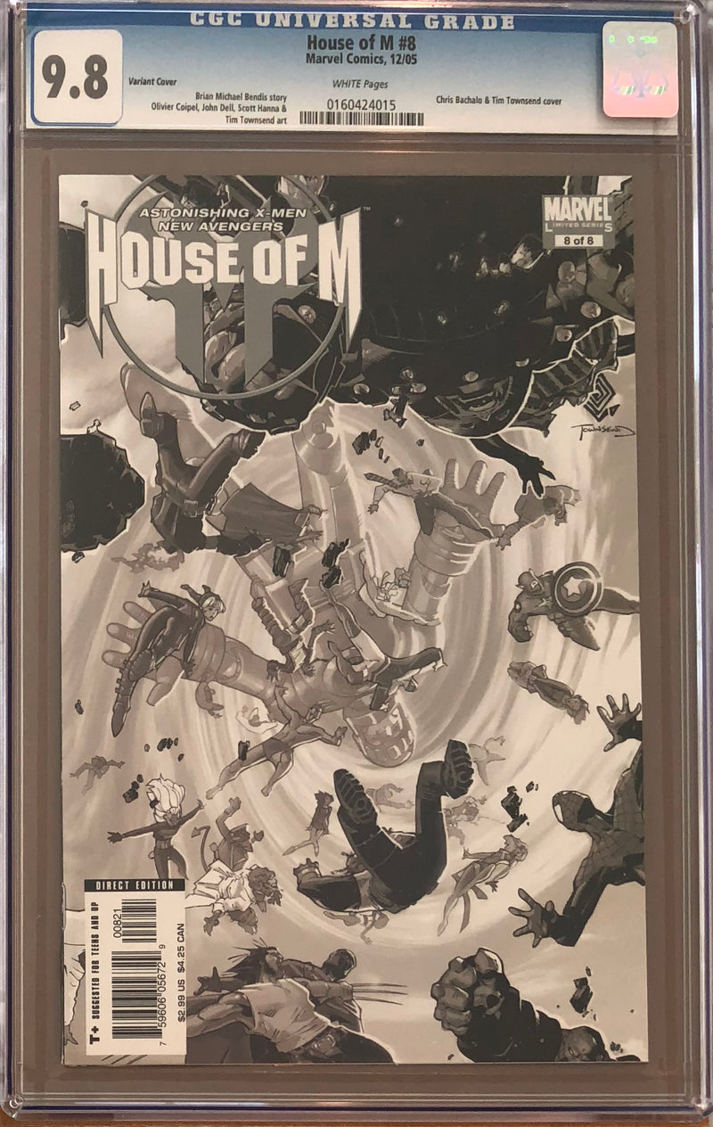 House of M #8 Variant CGC 9.8
