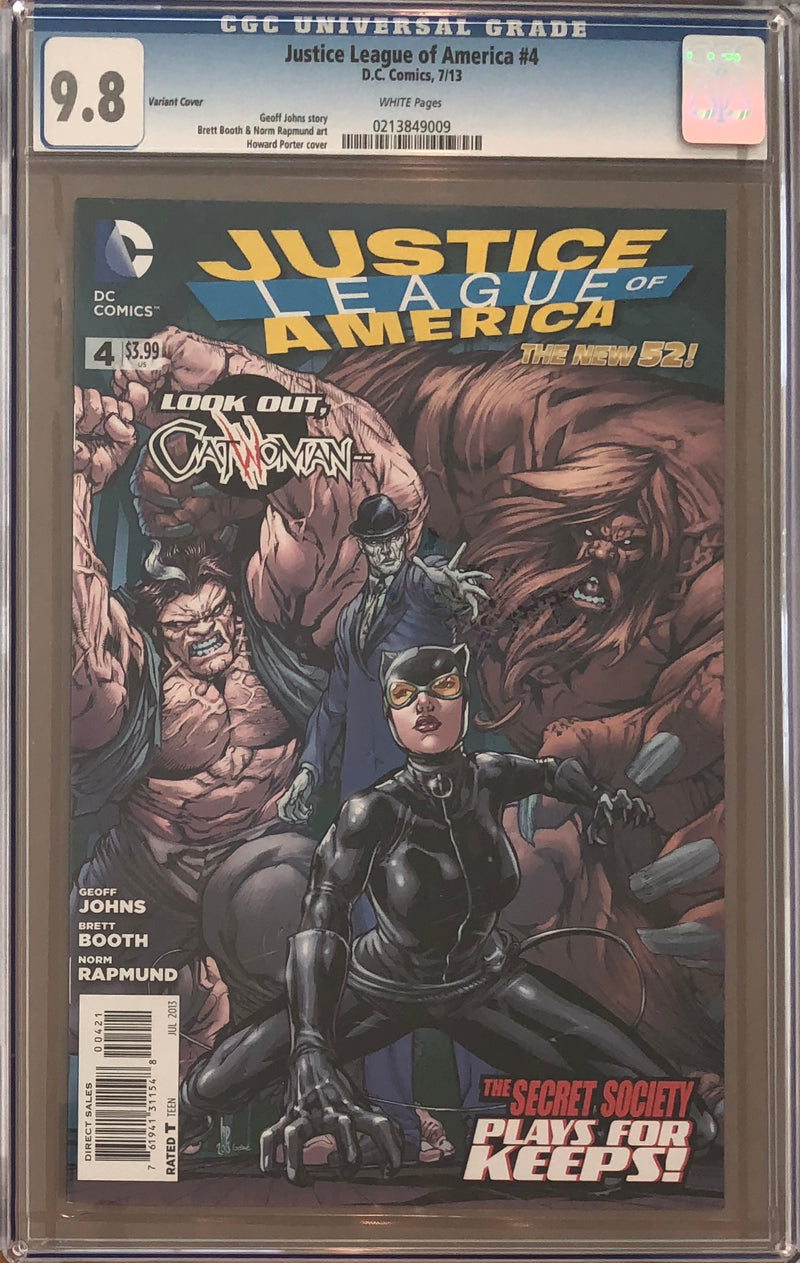 Justice League of America #4 CGC 9.8
