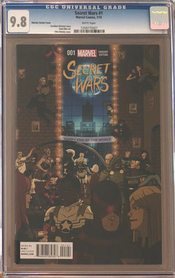 Secret Wars #1 Zdarsky Variant CGC 9.8