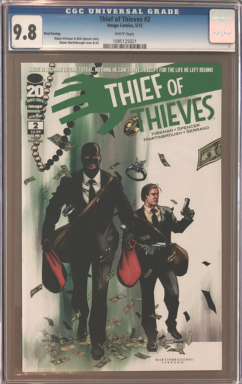 Thief of Thieves #2 Third Printing CGC 9.8