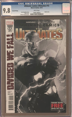 Ultimate Comics Ultimates #15 Second Printing CGC 9.8
