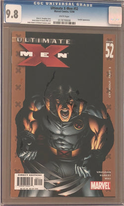 Ultimate X-Men #52 CGC 9.8