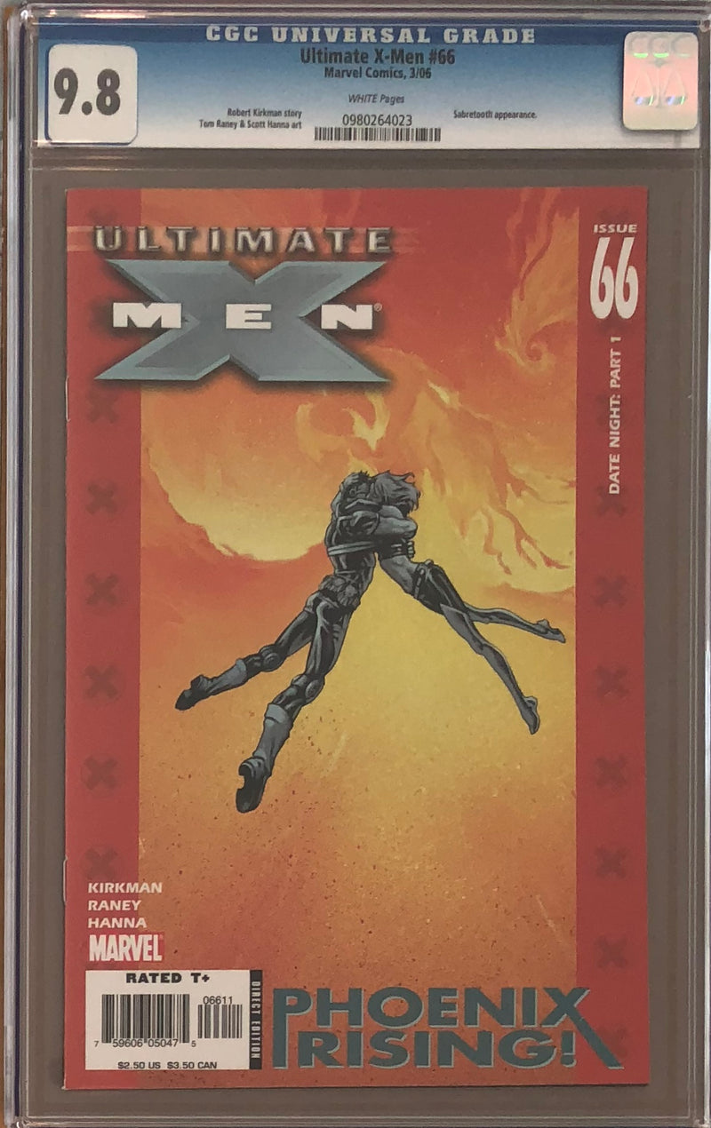 Ultimate X-Men #66 CGC 9.8