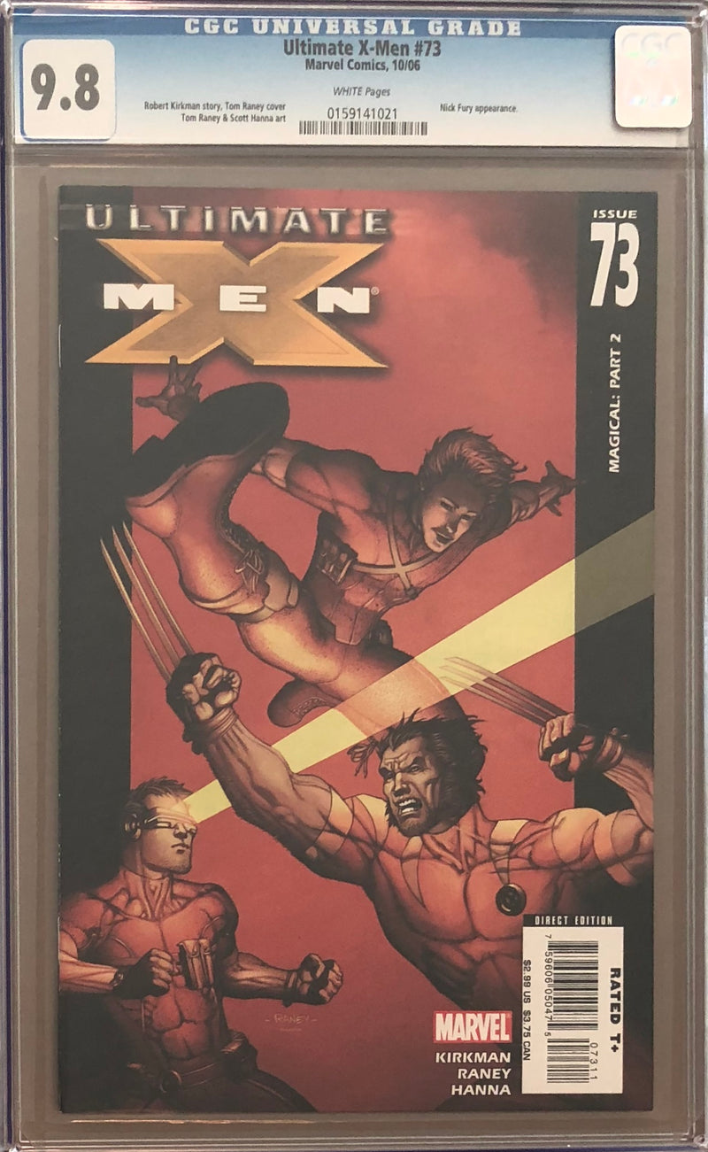 Ultimate X-Men #73 CGC 9.8