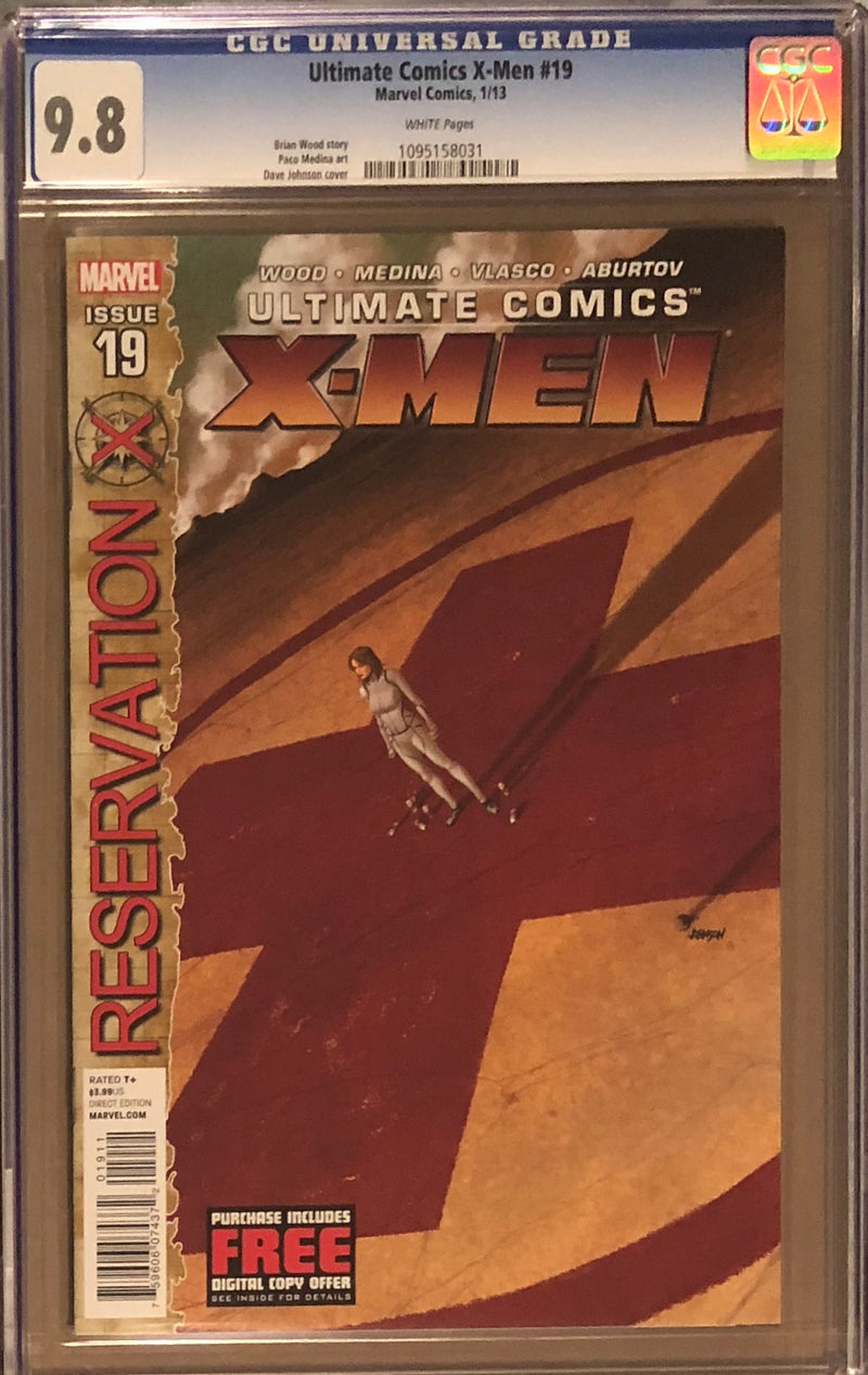 Ultimate Comics X-Men #19 CGC 9.8