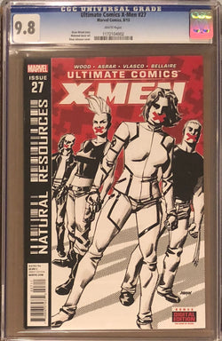 Ultimate Comics X-Men #27 CGC 9.8