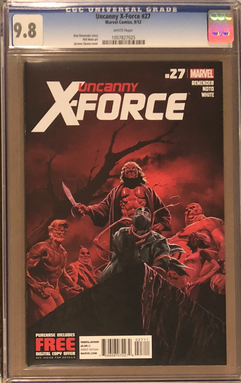 Uncanny X-Force 27 CGC 9.8