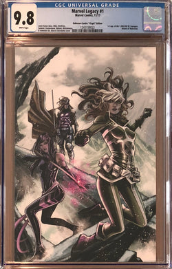 Marvel Legacy #1 Marco Checchetto Virgin Variant CGC 9.8