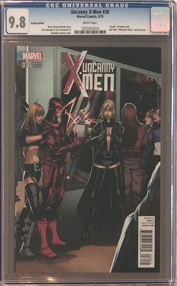 "Uncanny X-Men #30 Star Wars ""Welcome Home"" Variant CGC 9.8"
