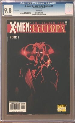 X-Men: The Search for Cyclops #1 Variant CGC 9.8