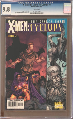 X-Men: The Search for Cyclops #2 CGC 9.8