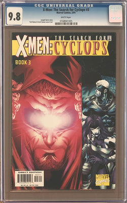 X-Men: The Search for Cyclops #3 CGC 9.8