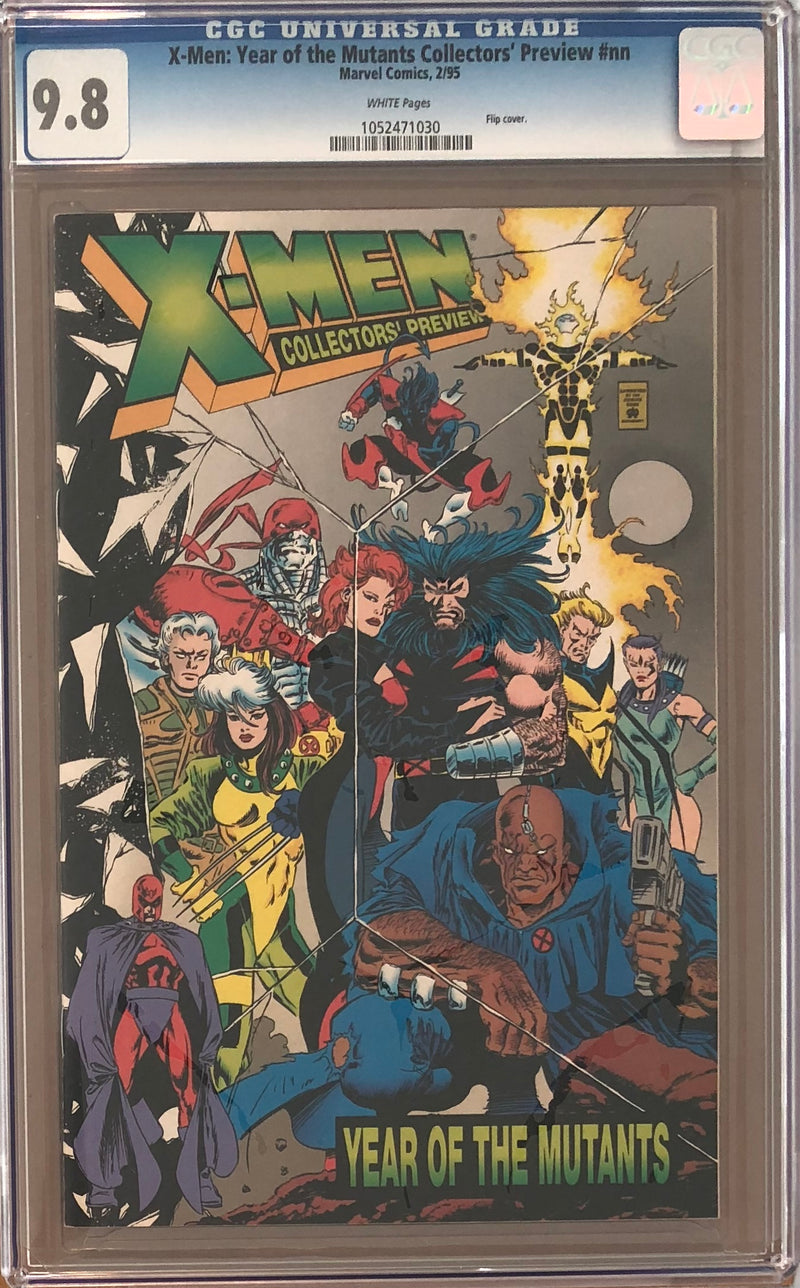 X-Men: Year of the Mutants Collectors' Preview #1 CGC 9.8