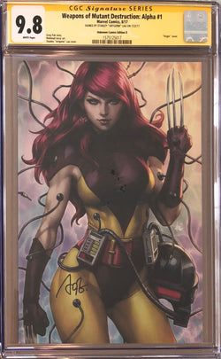 Weapons of Mutant Destruction: Alpha #1 Artgerm Virgin Edition D CGC 9.8 SS