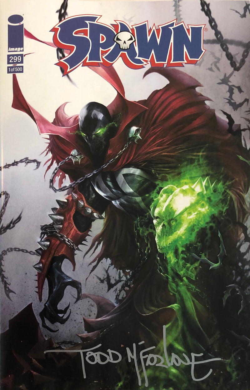 Spawn #299 Francesco Mattina Fan Expo Boston Variant - Signed by Todd McFarlane