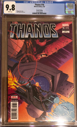 Thanos #16 Second Printing CGC 9.8